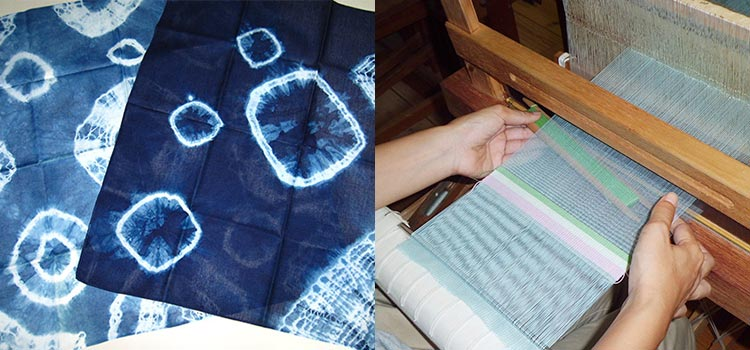 織物・藍染め工房