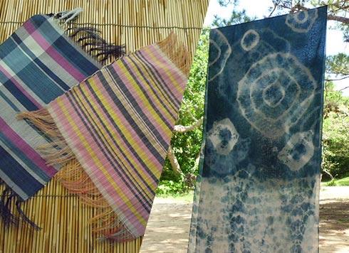 織物&藍染体験